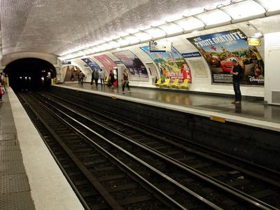 Platform At Alexandre Dumas