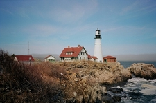 Portland Head Light Landscape - Maine