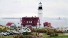 Portland Head Lighthouse - Cape Elizabeth - Maine