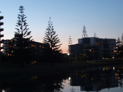 Port Macquarie Apartments At Night