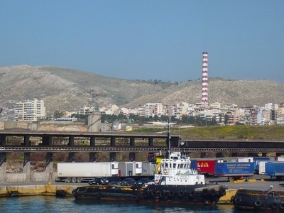 Port Of Drapetsona