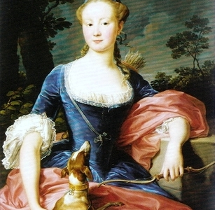 Portrait Of A Lady As Diana The Huntress