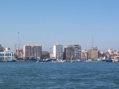 Port Said Egypt By Daniel Csorfoly