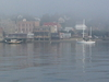 Port  Townsend  Washington Fog Waterfront