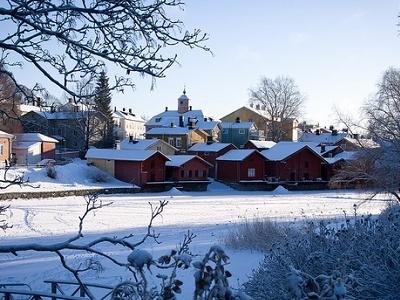 Porvoo Winter View - Finland