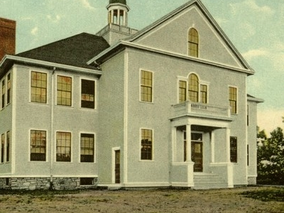 Postcard Chester Ct High School 1 9 0 6to 1 9 1 6