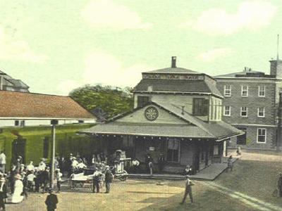 Postcard Danielson Square 1 9 1 8