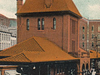 Postcard Erie R R Sta Jamestown N Y 1 9 0 9