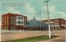 Bath Houses And Sanitorium, About 1905