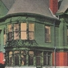 Postcard Moosup C T Aldrich Free Public Library 1 9 1 3