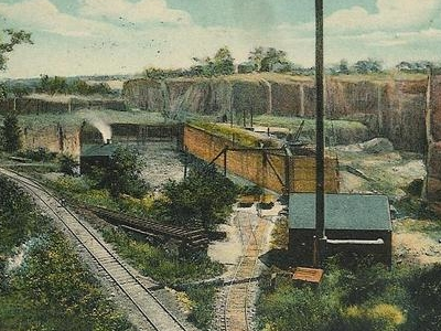 Postcard Portland C T Brownstone Quarry 1 9 1 1