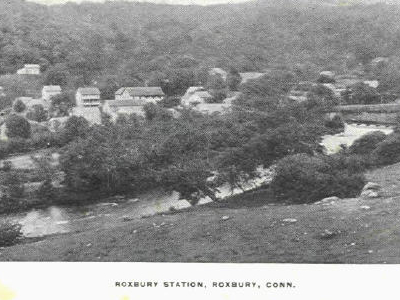 Postcard Roxbury C T Distant View 1 9 0 1 1 9 0 7