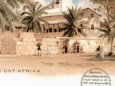 Postcard  Tanga  1 9 1 4