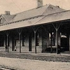 Postcard Torrington C T R R Station 1 9 0 7