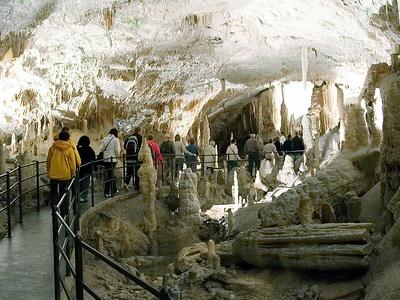 Postojna Cave Interiors