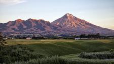 Pouakai Range & Mount Taranaki - North Island NZ