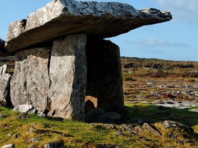 Poulnabrone Dolmen - Burren - County Clare - Ireland