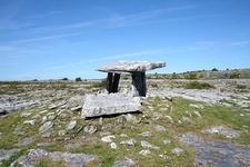 Poulnabrone Dolmen Site - Burren - County Clare - Ireland