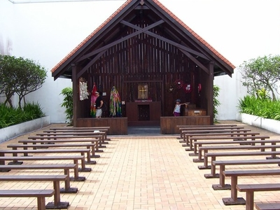 Chapel At  Changi  Prison