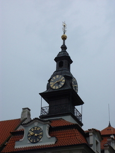Jewish Town Hall Clocks