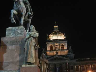 Wenceslas Monument And National Museum
