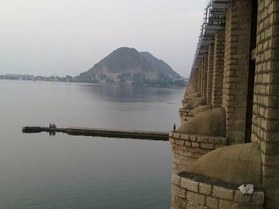 Prakasam Barrage Vijayawada