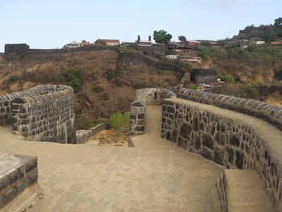 Pratapgarh Fort Courtyards - Mahabaleshwar - Maharashtra - India