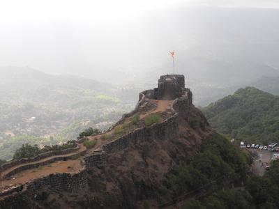 Pratapgarh Fort View - Mahabaleshwar - Maharashtra - India