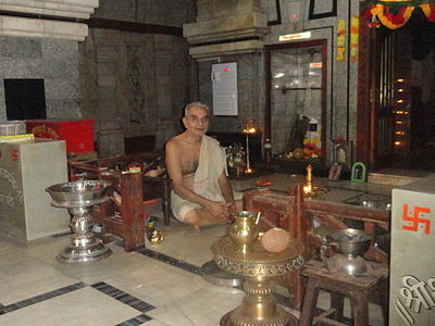Priest In The Temple