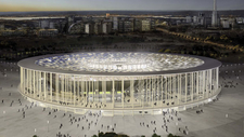 Projeto Do Estádio Nacional Brasília