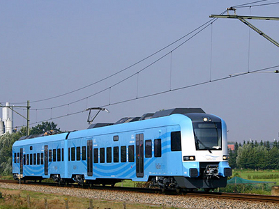 Connexxion Train Near Barneveld