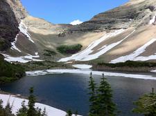 Ptarmigan Tunnel Trail - Glacier - Montana - USA