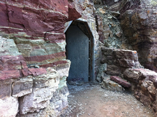 Ptarmigan Tunnel Trail North Entrance - Glacier - Montana - USA