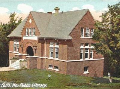 Public  Library Rumford  Falls