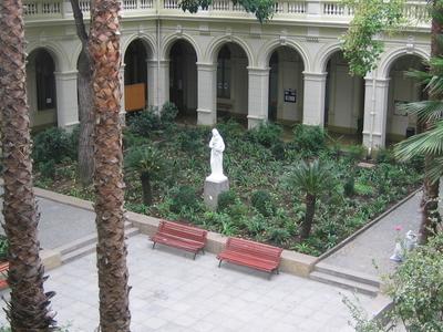 Inside Casa Central