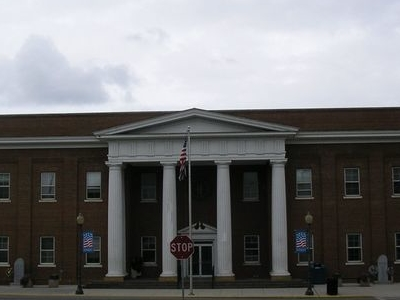 Pulaski County Courthouse In Somerset