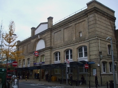 Putney Bridge Tube Station Building