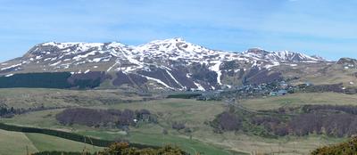 Puy De Sancy From The South