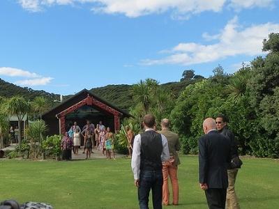 Pōwhiri @ Urupukapuka Island - Northland