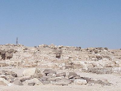Pyramid Of Djedefre - Abu Rawash - Egypt