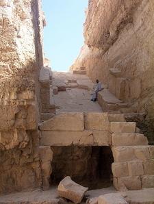 Pyramid Of Djedefre At Abu Rawash - Egypt