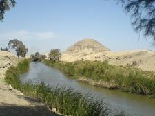 Pyramid Of Neferuptah - Hawara - Egypt