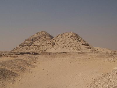 Pyramid Of Niuserre - Abusir - Egypt