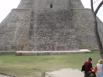 Pyramid Of The Magician - Uxmal - Mexico
