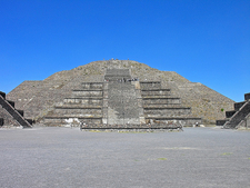 Pyramid Of The Moon - Front View