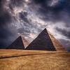 Pyramids At Giza - Cairo