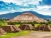Pyramids Of Sun & Moon In Teotihuacan