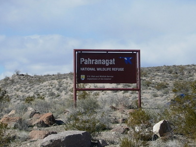 Pahranagat Sign