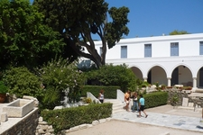 Panagia Ekatontapyliani Courtyard