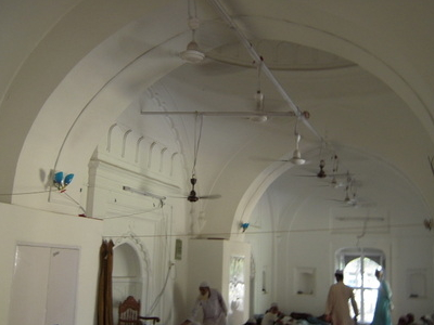 Inside View Of Panbari  Mosque